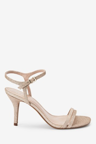 Shimmer Two Strap Sandals
