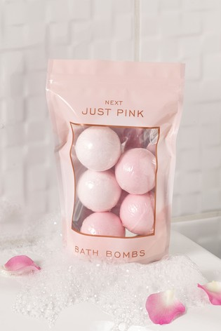 Just Pink Bath Bombs Gift Set
