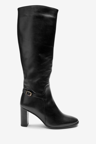 Signature Knee Black Knee Boots Black Knee High Signature Signature Boots Black High High H29WEID