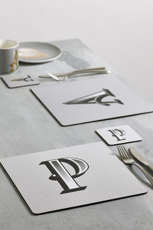 Alphabet Placemat And Coaster
