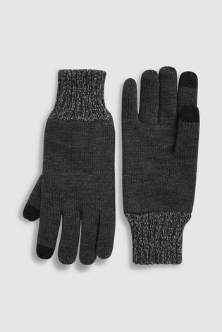Grey Thinsulate™ Gloves