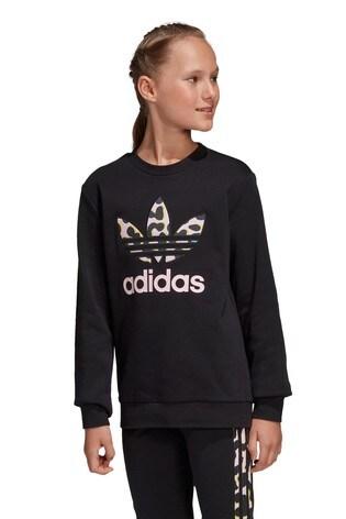 Kaufen Sie adidas Originals Kapuzensweatshirt im Animalprint