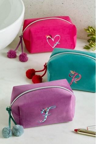 Alphabet Cosmetics Bag