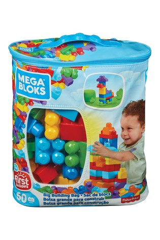 Mega Bloks First Builders 60 Piece Classic Building Bag