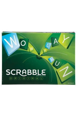 Scrabble Original Crossword Board Game