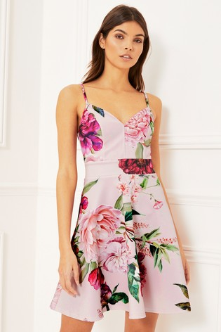 66c9d94bc Buy Lipsy Floral Skater Dress from Next Ireland