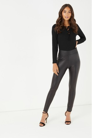 speical offer new product top-rated genuine Lipsy Petite Leather Look Leggings