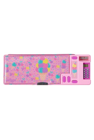 Smiggle Pink Fave Pop Out Pencil Case