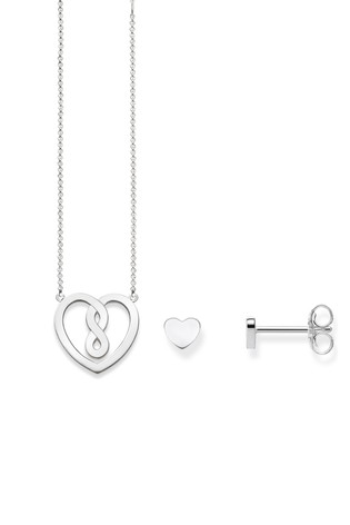 Thomas Sabo Necklace And Earring Set In Gift Box