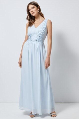 Dorothy Perkins Beaded Waist Maxi Dress