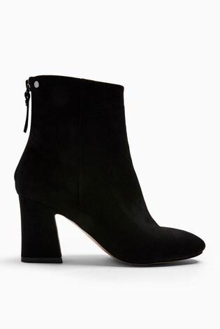 Topshop Black Belize Smart Boots