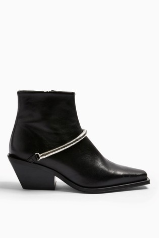 Topshop Mercy Western Boots