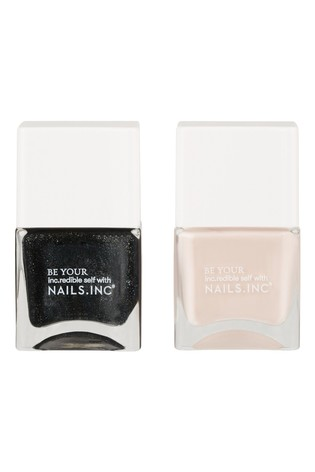 Nails INC Super Sexy Strong Duo - (Worth £30)