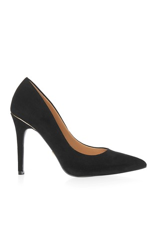 Lipsy Black Wide Fit High Heel Courts