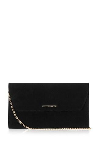 Lipsy Black 2 Envelope Clutch Bag