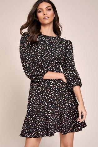 Lipsy Frill Hem Mini Dress