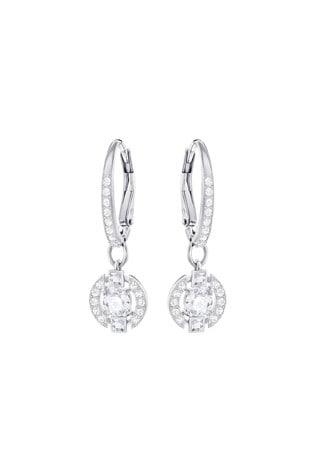 Swarovski Sparkling Dance Round Pierced Earrings