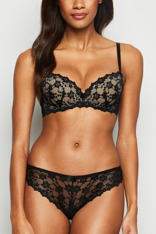 New Look Daisy Lace Demi Bra