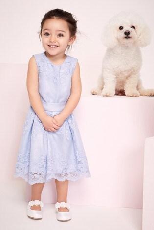 Lipsy Mini Girl Lace Dress