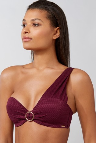 Boux Avenue One Shoulder Balconette Bra E+