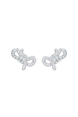Swarovski®  Lifelong Bow Pierced Earrings