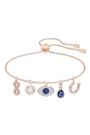 Swarovski Symbolic Rose-Gold Tone Plated Bracelet