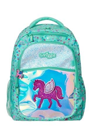 Smiggle Believe Backpack with Unicorn