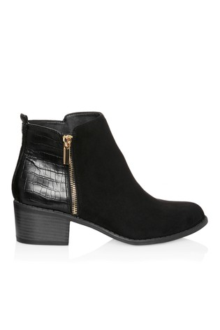 Buy Lipsy Flat Side Zip Boot from Next
