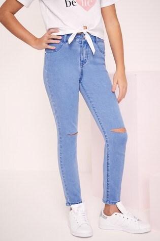 M/&Co Girls Skinny Jeans