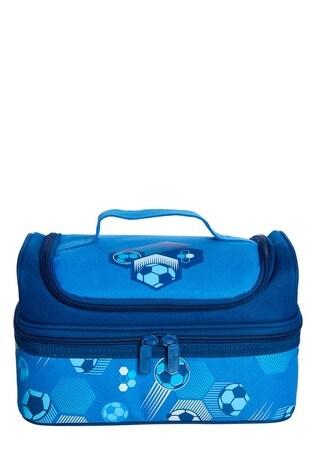 Smiggle Mid Blue Deja Vu Double Decker Lunchbox