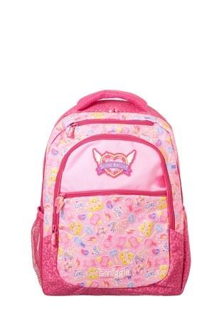 Smiggle Pink Express Backpack