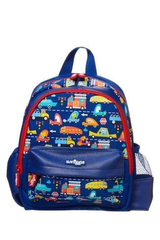 Smiggle Navy Skip Teeny Tiny Backpack