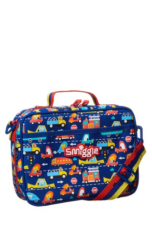 Smiggle Navy Skip Teeny Tiny Lunchbox