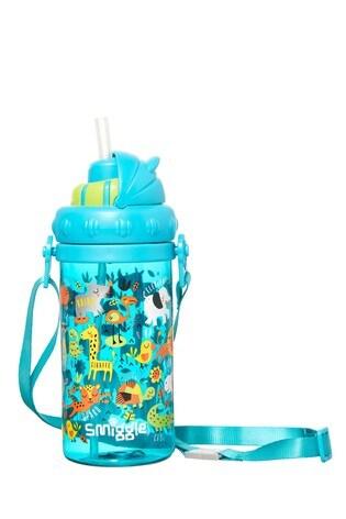 Smiggle Blue Skip Teeny Tiny Strap Drink Bottle