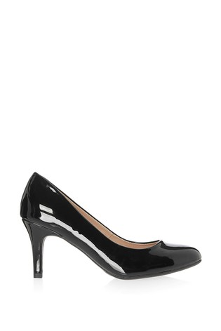 Buy Lipsy Black Low Heel Courts from