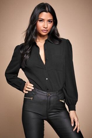 Lipsy Black Shirt