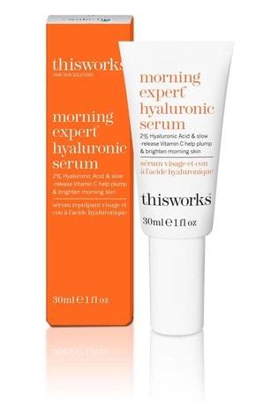 This Works Morning Expert Hyaluronic Serum
