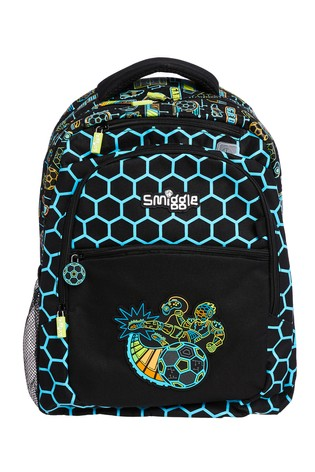 Smiggle Black Far Away Backpack