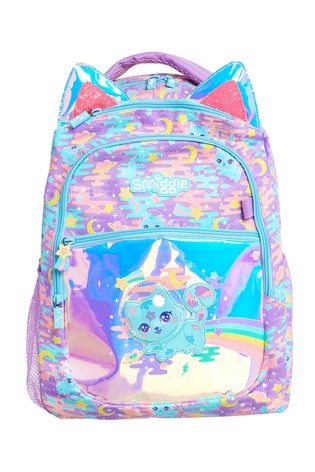 Smiggle Purple Far Away Backpack
