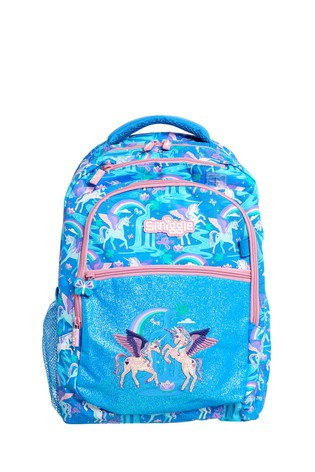 Smiggle Blue Far Away Backpack