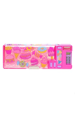 Smiggle Pink Far Away Pop Out Pencil Case