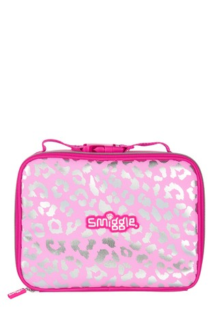 Smiggle Magenta Block Square Lunchbox