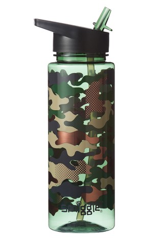 Smiggle Camouflage Block Spout Drink Bottle
