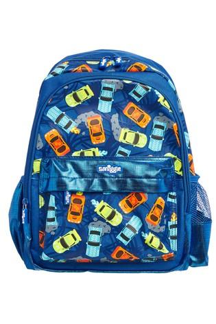 Smiggle Cobalt Whirl Junior Backpack
