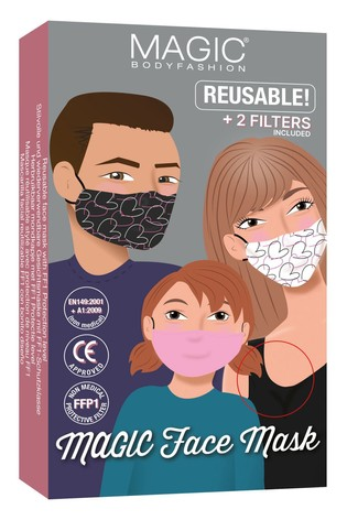 MAGIC Body Fashion Face Covering with Removable Filter
