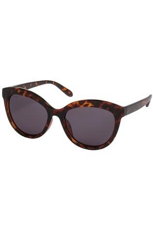 PILGRIM Brown Tulia Sunglasses