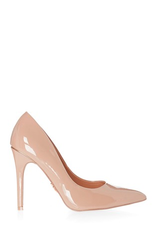 Lipsy Nude High Heel Courts