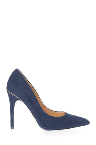 Lipsy Blue Wide Fit High Heel Courts