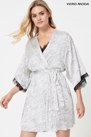 Buy Vero Moda Lace Trim Robe From The Next Uk Online Shop