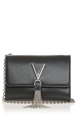 Valentino Bags Black Divina Cross Body Bag